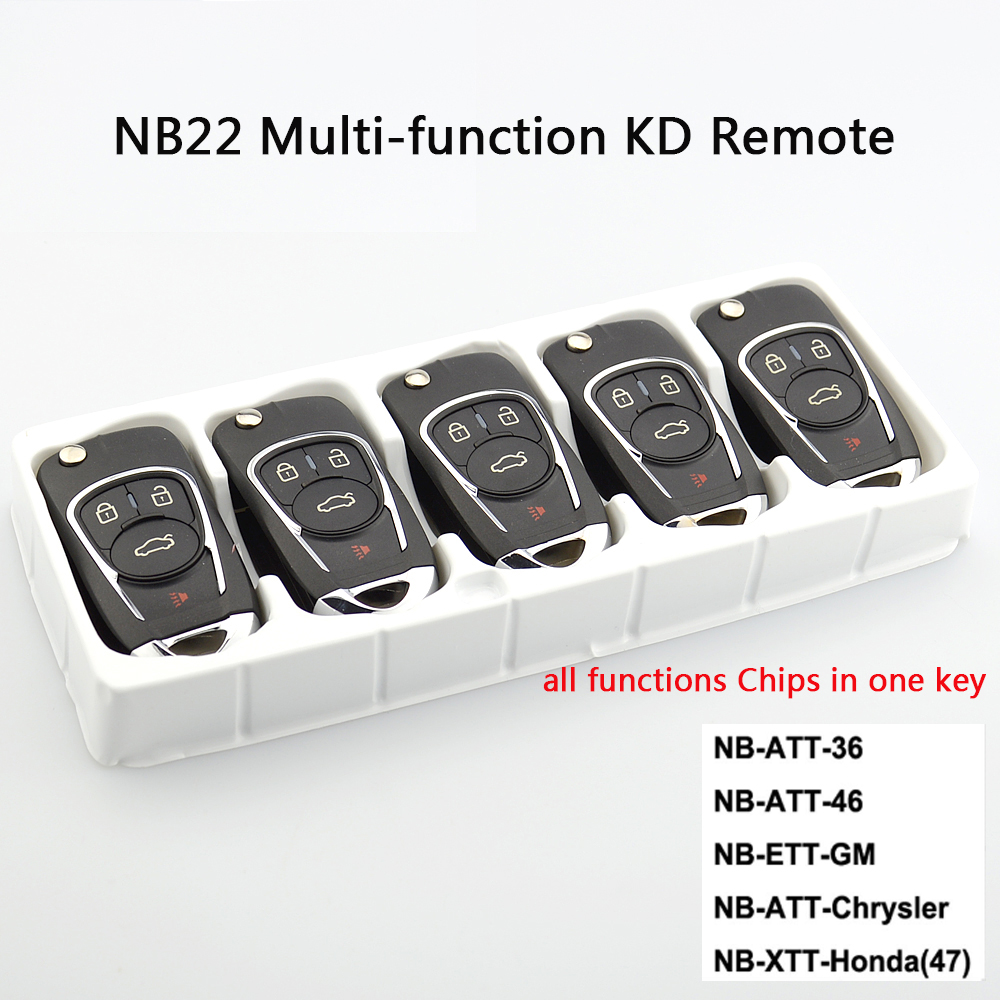 OkeyTech 5PCS LOT New KD900 NB22 NB Series Universal Multi functional Remote Control With 5PCS NO