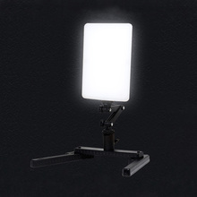 T96 LED Photographic Light Ultra Thin 5600K Ra95 Video Light Lamp with Adjustable Arm and Bracket Stand for Camera Phone Photo