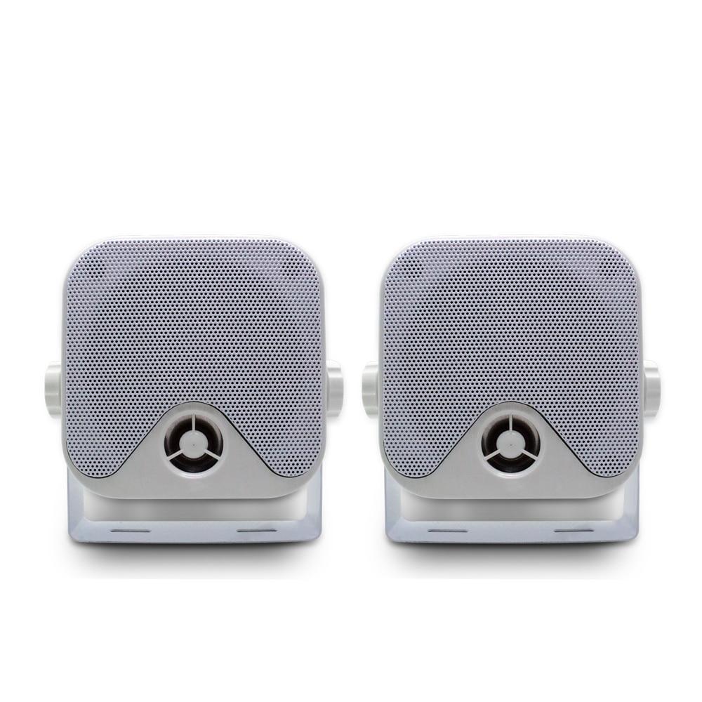 100W 4 Inch Marine Waterproof Boat Speakers Motorcycle Audio Speaker Heavy Duty Music Sound System For
