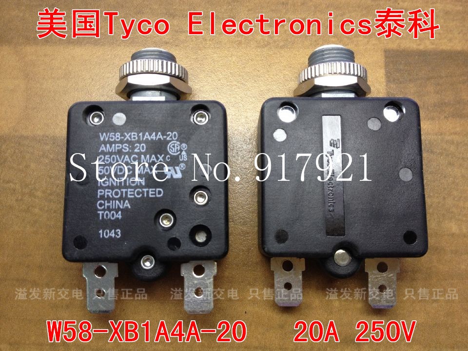 [ZOB] The United States Tyco EIectronics W58-XB1A4A-20 20A 250V equipment Tyco thermal switch --50pcs/lot