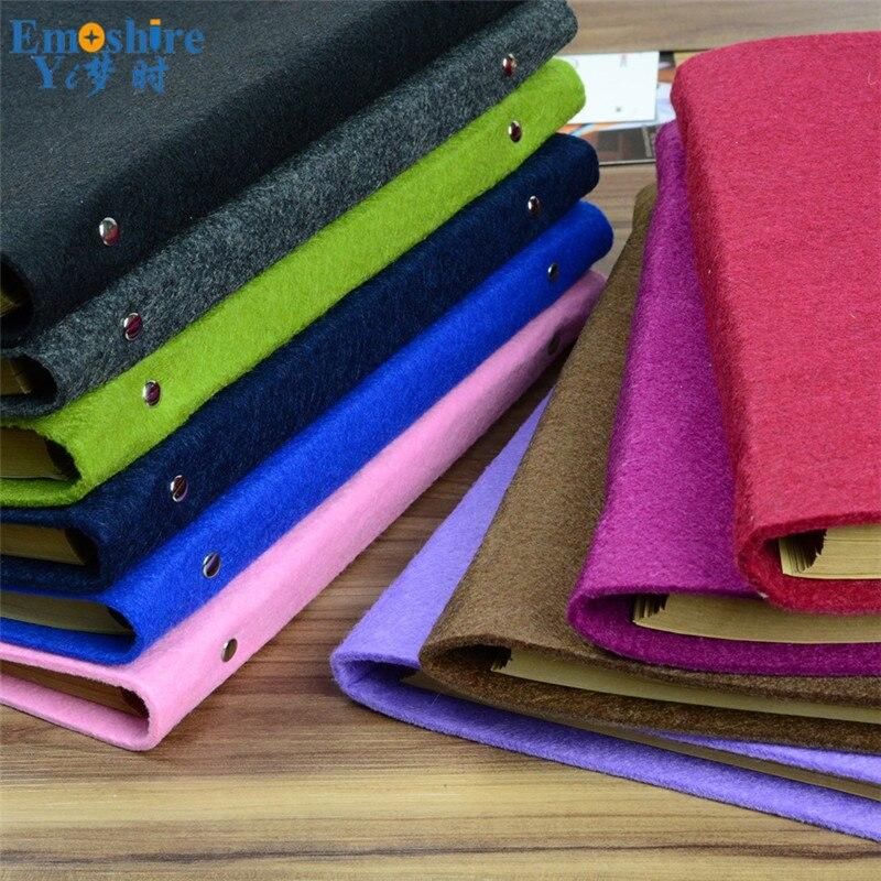 A4-5 Business Felt Handmade Notebook Paperback B5 Notepad Customized Wholesale School Office Writing Supplies N089