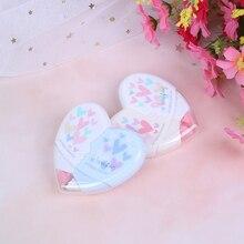 2 шт. коррекция сердца любовь лента Kawaii Канцелярские Принадлежности для студентов офисные школьные принадлежности