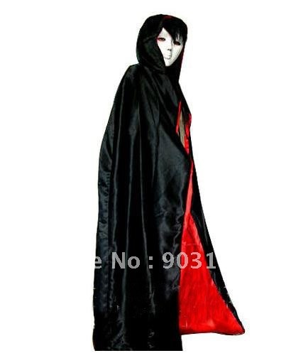 Wholesale 1pcs Halloween masquerade super halloween mask+dress Cloak terror + free shipping