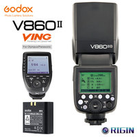 Godox V860II O GN60 HSS 1/8000s Off Camera Flash 2.4G Wireless X System With lithium battery+Xpro O Kit For Olympus/Panasonic