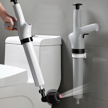 Sewer Dredge Device High Pressure Toilet Dredging Gun Kitchen Vegetable Residue Removal Tools Bathroom Plugging Suction Machine