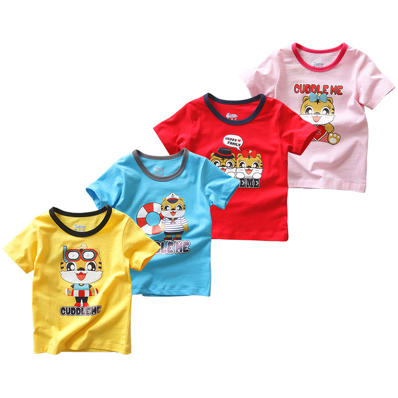 5b4487c0c870 2019 Summer Baby Boy T-Shirts Infant Tees Shirt Short Sleeve Toddler Tops  Girl Clothes T Shirt Children Outfits Jersey 2-7years - aliexpress.com -  imall.com