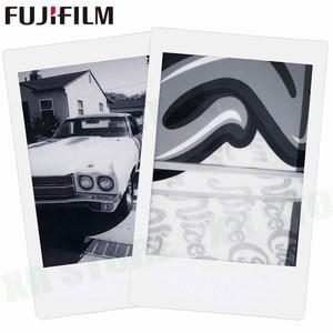 Image 3 - Fujifilm instax mini 11 8 9 filme mono chrome fuji instantânea foto papel 10 folhas para 70 7s 50s 50i 90 25 share SP 1 2 câmera