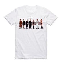 2017 Men Tyrell-Genetic Replicants Blade Runner Inspired Ringer White T Shirt Summer O Neck Short Sleeve Harajuku Swag T-shirt