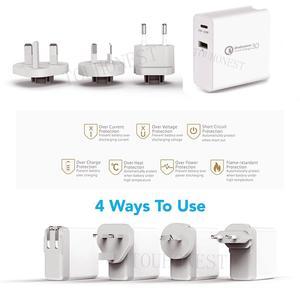 Image 2 - Быстрое зарядное устройство QC 3,0, 48 Вт, сетевое зарядное устройство с портом USB Type C 3,0 PD для Samsung, iPhone, Huawei, планшетов, адаптер с вилкой Стандарта США, ЕС, Великобритании, Австралии