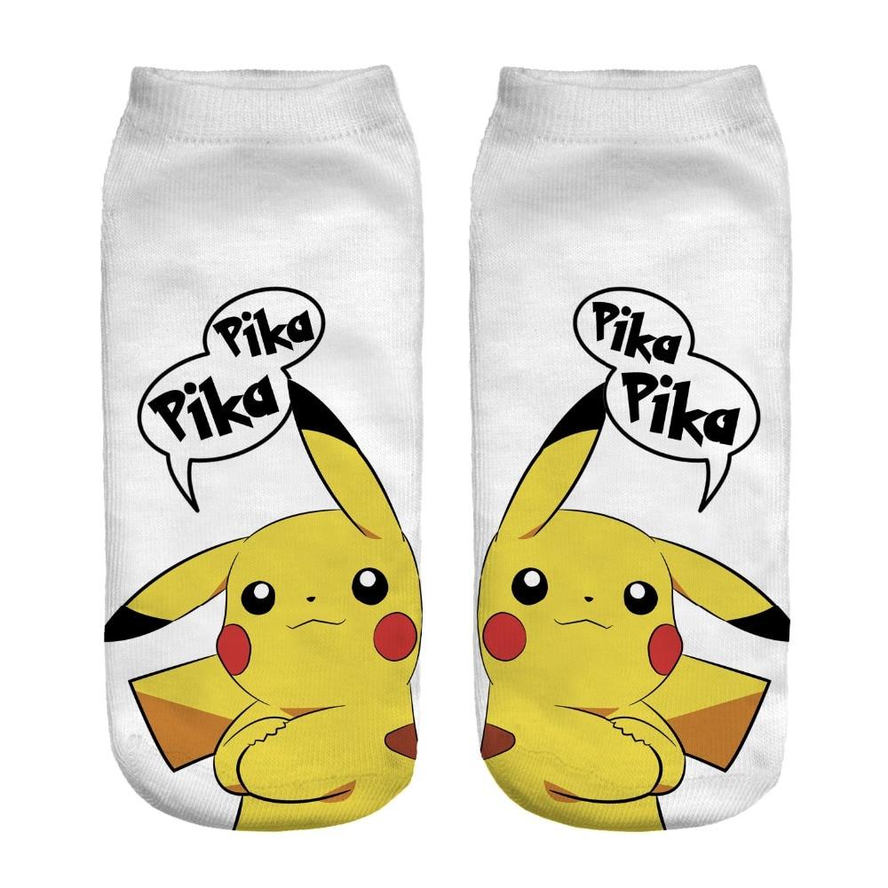 Pokémon No Show Socks Ankle Socks  Lot 5 or 7 pairs