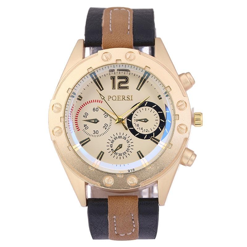 Fashion Dress Watches For Women PU Leather Band Flower Pattern Quartz Wrist Watch Watches Clock Hours
