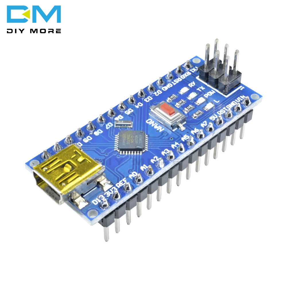 5 PCS CH340 NANO V3.0 3.0 Mini USB Atmega328 ATmega328P Modulo 5 V 16 M 16 MHZ Micro Drive Controller scheda del Driver Per Arduino