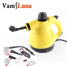 лучшая цена 6 in 1 Portable Steam Cleaner High Temperature Steam Cleaning Pot High efficiency Mite Disinfectant Steam Cleaning Machine