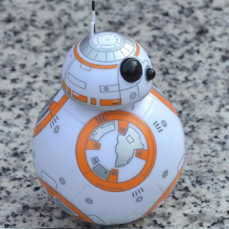 8.5cm Star Wars The Force Awakens BB8 BB-8 Droid Robot Action Figure PVC brinquedos Collection Figures Toys Tumbler Ball model r2d2 robot bb8 xinh206 single sale building blocks star wars 7 the force awakens toys for children