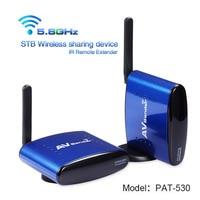 PAKITE 200 Meter Multi Channels 5 8GHz Audio Video Wireless Sharing Device TV Transmitter Receiver Sender