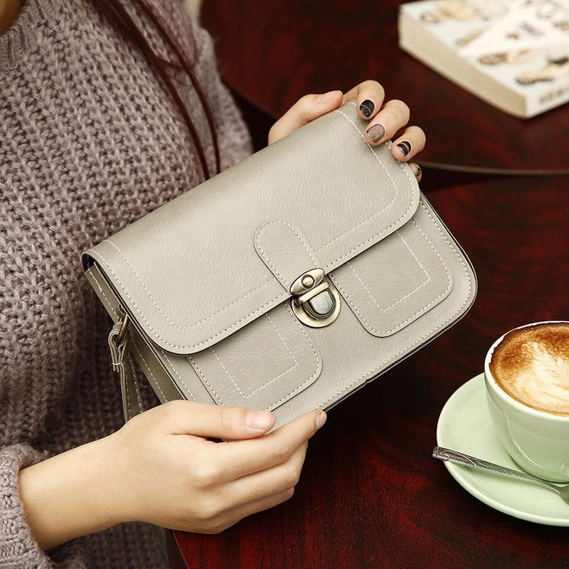 moda bolsas retro ombro bolsa Large Capacidade : Magazine / Phone / Cosme