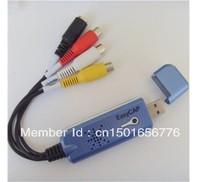 El Envío Gratuito! tarjeta de adquisición de USB 1-way DVD DVR genéticamente AV de transcodificación de vídeo ordenador set-top box