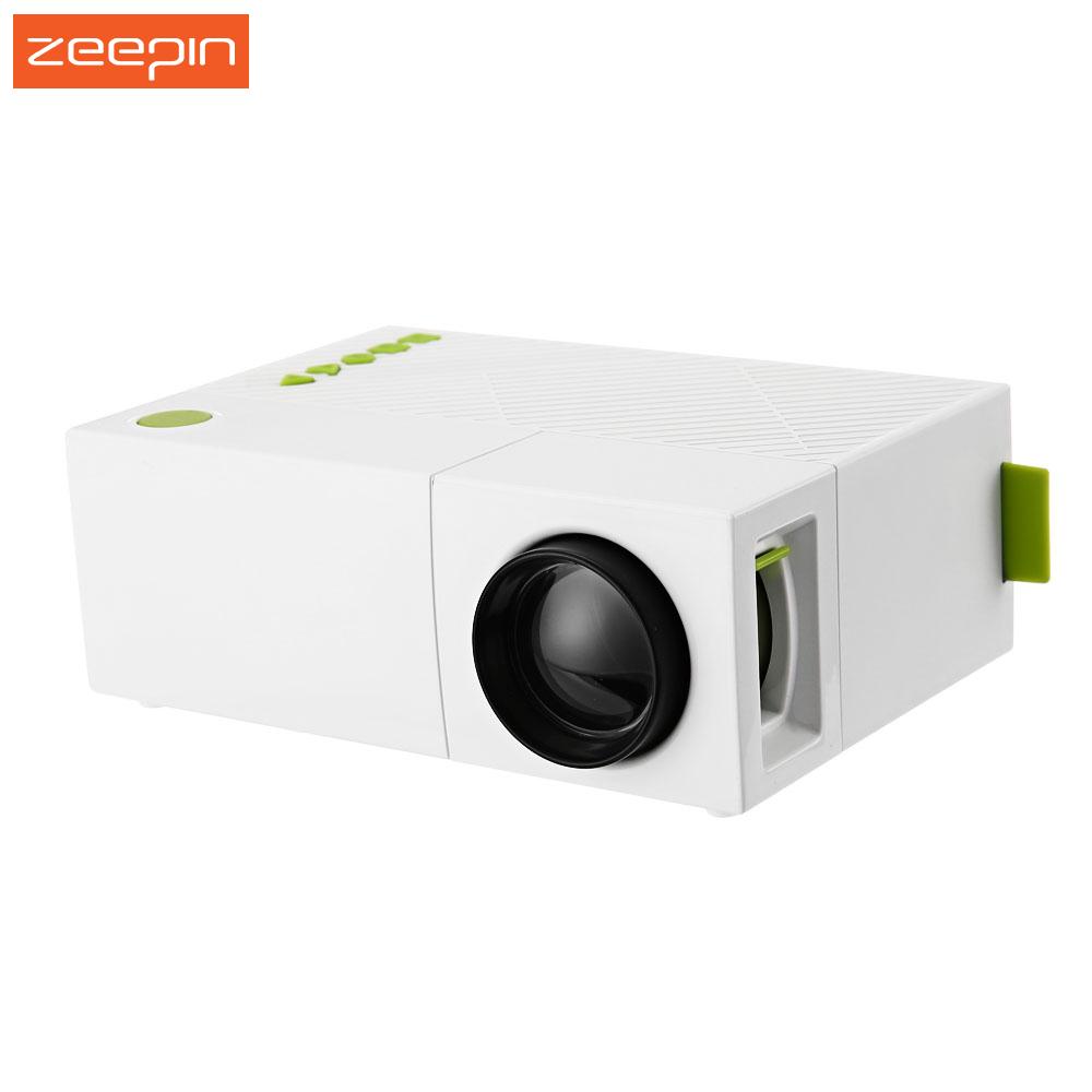 Prix pour Portable Mini YG310 LCD Projecteur 400-600 Lumens HD 1080 P LED Vidéo Projecteur HDMI Home Cinéma TV Beamer Multimédia USB