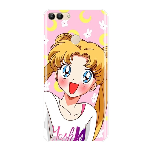 Sailor Moon Phone Case For Huawei P8 P9 Lite Mini 2017 Silicone Soft Back Cover For Huawei P20 Lite Pro P9 P10 Plus P Smart Case Multan