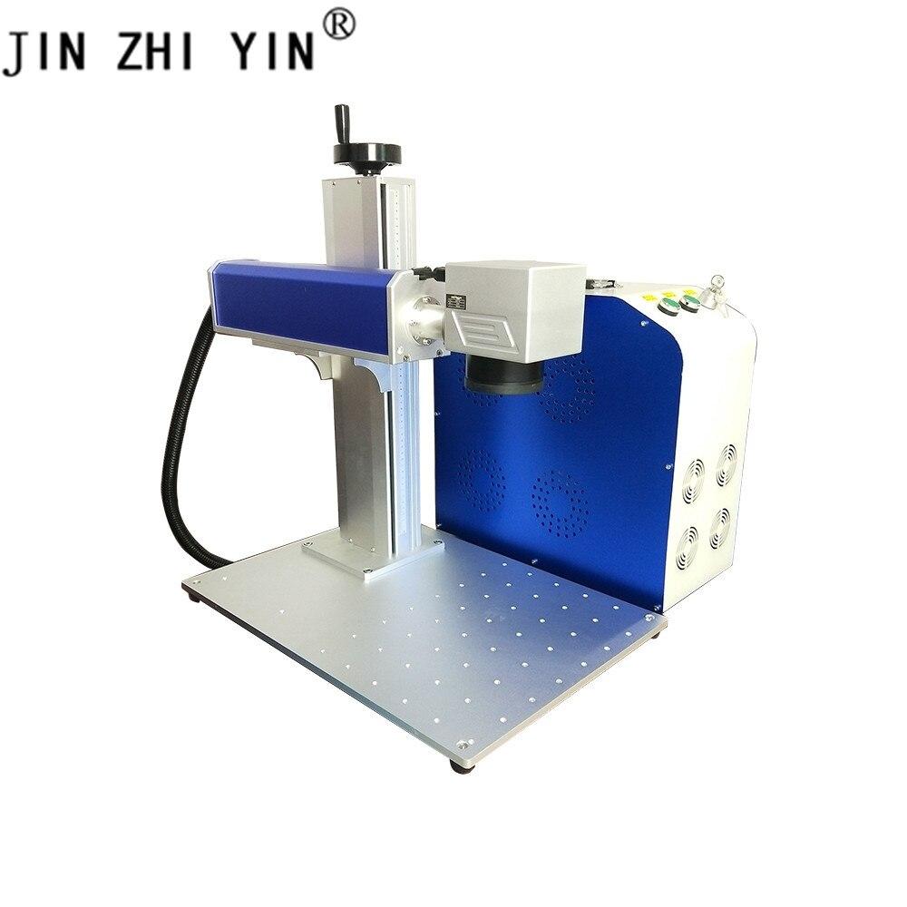Fiber Laser Marking Machine 30w  Metal Laser Engraver Sino Lens Raycus Laser