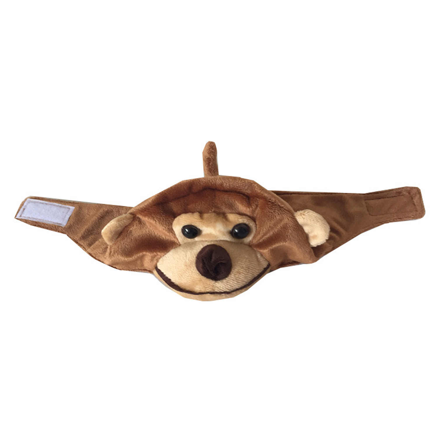 Behogar милая мягкая зимняя теплая шапка в стиле обезьяны, шапка для собак и кошек, шапка-скафандр, аксессуары для празднования Хеллоуина