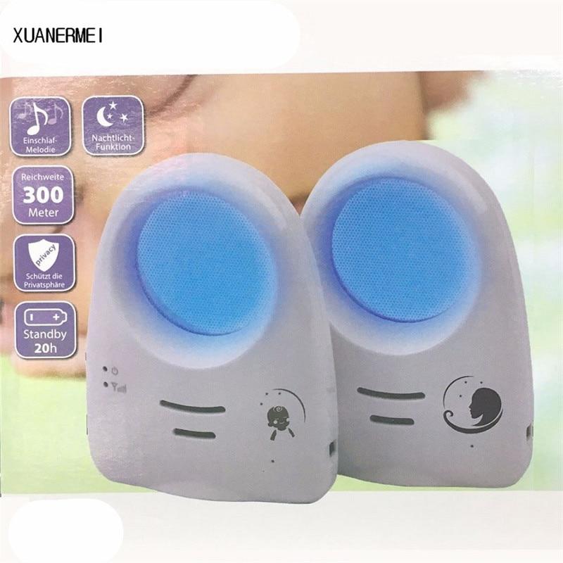Xuanermei 2.4G Digital Wireless Audio Sound Baby Monitor support Voice Control Baby Cry Detector Intercomunicador Bebe