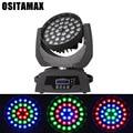 36x15 Вт Высокая мощность 5в1 RGBWA LED Wash/Zoom Light DMX Moving Head Light Профессиональный DJ Бар Вечеринка шоу LED сценическая машина