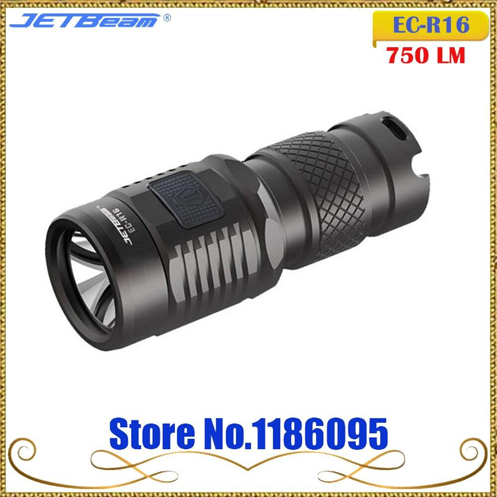 Jetbeam Niteye EC-R16 Edc Lantern Cree XP-L Led 750 Lumen 4 Model Memory Function Side Switch 16340 CR123A Flashlight niteye ec a12 aa battery rechargeable led flashlight edc light cree xp l led lamp 380 lumens alloy reflector power indicator