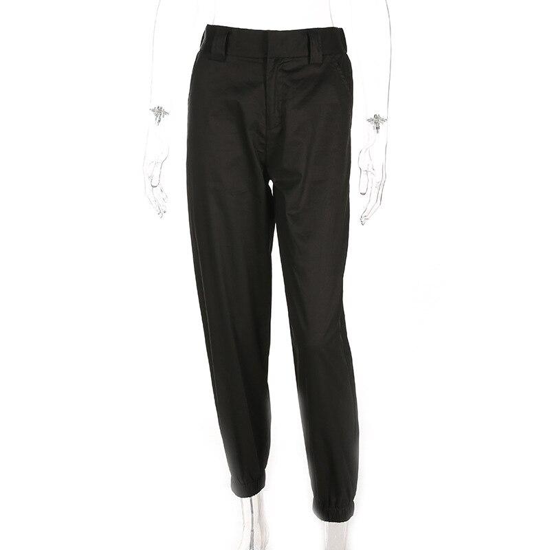 Women High Waist Loose Pants White Cotton Casual Trousers Fashion 2018 Female Harem Sweatpants Pants Pantalon Femme Plus Size
