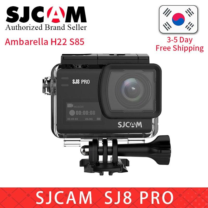 Оригинальная Экшн камера SJCAM SJ8 Pro 60fps 8X с цифровым зумом 1290P 4 K, wifi, пульт дистанционного управления pro yi 4 K, водонепроницаемая Спортивная видео