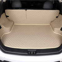 HLFNTF Custom Car Trunk Mat For Infiniti Q50L QX50 ESQ Q70L QX60 Q60 QX70 Q50 QX30 car accessories 100% fit trunk pad|mat mat -