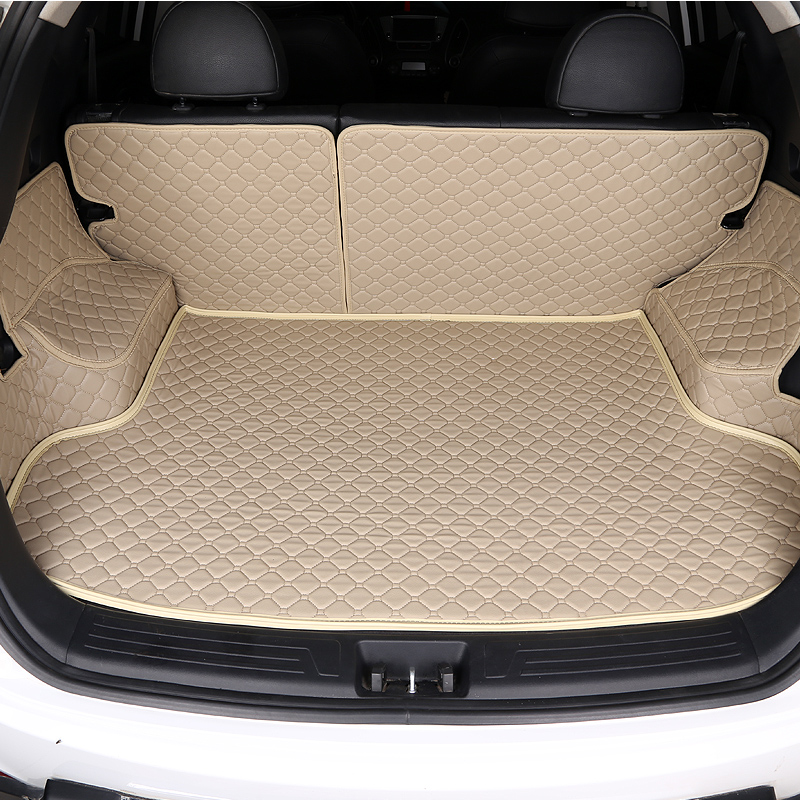 HLFNTF de estera de maletero de coche para Infiniti Q50L QX50 ESQ Q70L QX60 Q60 QX70 Q50 QX30 accesorios de coche 100% ajuste maletero pad