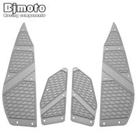 Motorcycle XMAX 300 250 Front Rear Footrest Pedal Motorbike Footboard Steps Foot Plate pad For YAMAHA XMAX300 2017 2018 XMAX250