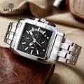 Megir Business Stainless Steel Best Quartz Wrist Mens Watches Top Brand Luxury Army Clock Male Quartz-Watches reloj hombre 2016