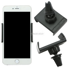 Universal Car Air Vent Mount Cradle Stand Holder For Cell Phone For iPhone GPS -R179 Drop Shipping