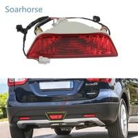 Soarhorse Rear Tail bumper fog lamp Brake Reflector Light For Suzuki SX4 S Cross Swift Sports 2013 2014 2016 2017 2018