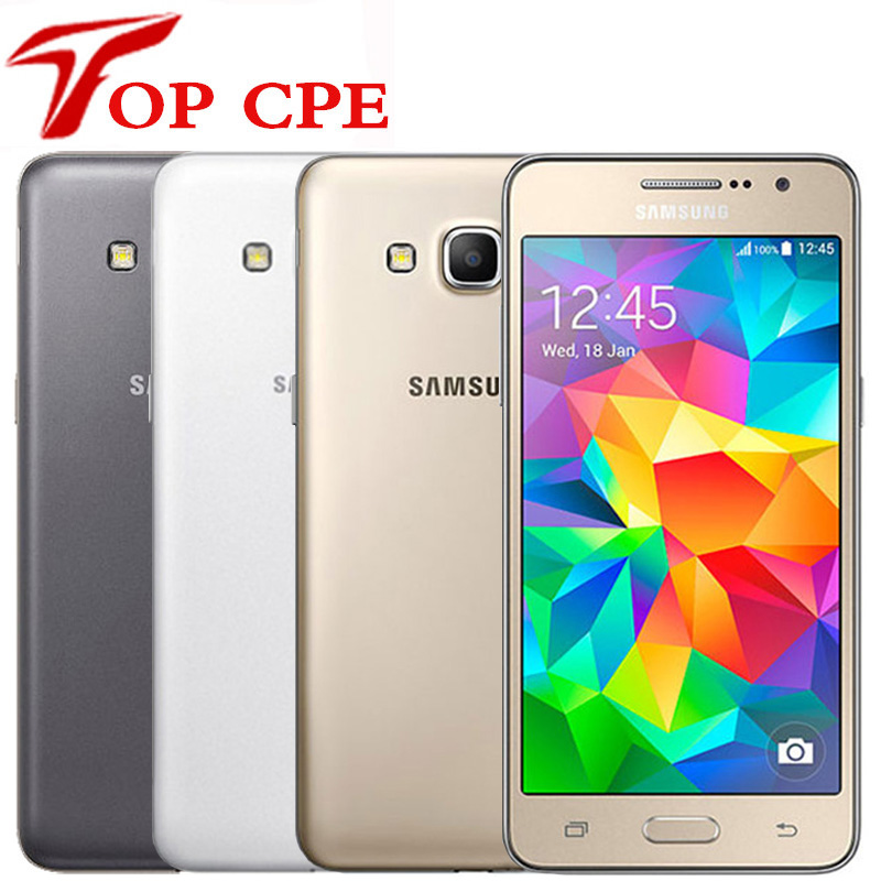 Samsung Galaxy Grand Prime Original 8gb 1GB GSM/WCDMA/LTE Bluetooth Quad Core 8mp Refurbished