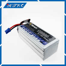 2pcs Lipo 22.2 V 10000 Mah Lithium Battery EC5 or T or XT60 plug For RC Helicopter Qudcopter Drone Car Boat Bateria
