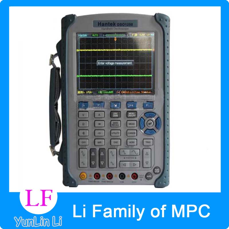 USB Oscilloscope Scope DMM 200MHz 500MSa/s 5.7 2Ch DSO1200