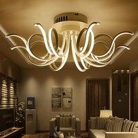 Постмодерн скандинавский светодиодный гостиная потолочный светильник простой Спальня Творческий атмосферное исследование кофе ресторан
