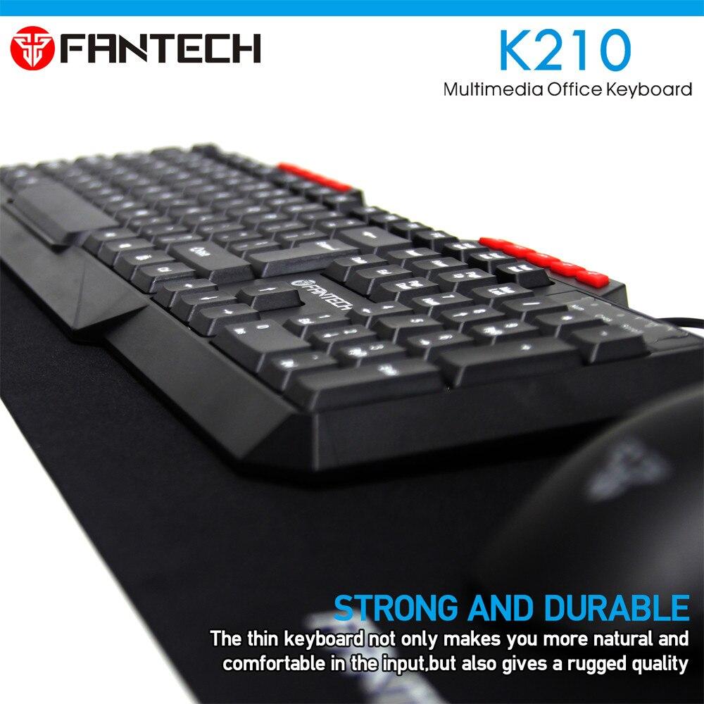 FANTECH K210 Multimedia Office Keyboad 11