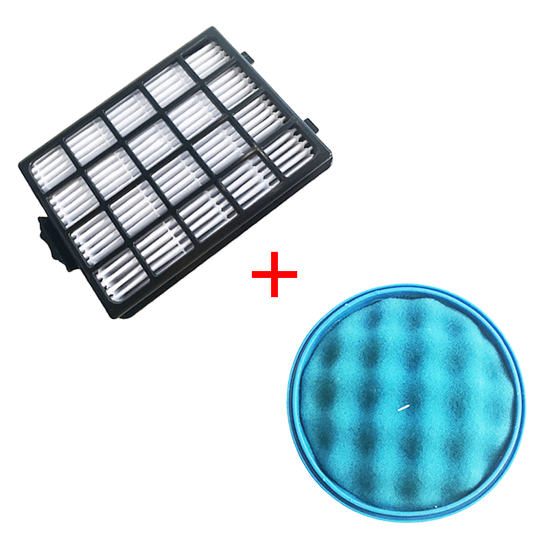 1PC H13 Dust Hepa Filter + 1PC Sponge Filter For Samsung SC21F50 SC15F50 SC50VA VC-F700G VU7000 VU4000 Vacuum Cleaner Parts
