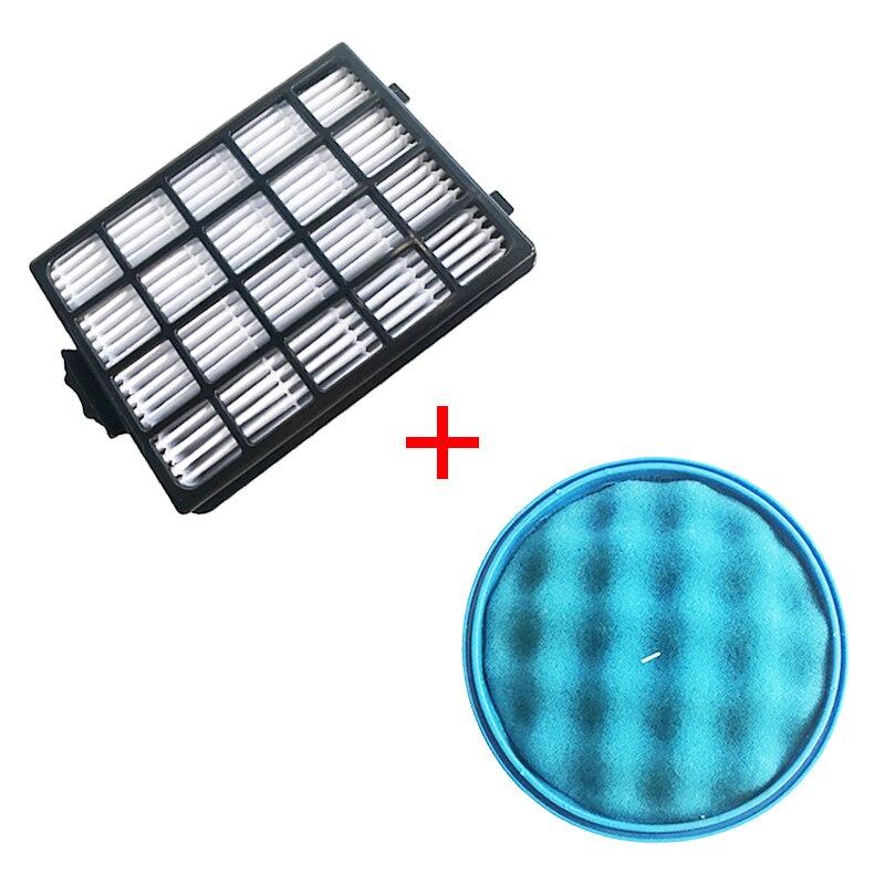 1PC H13 Dust Hepa Filter + 1PC Sponge Filter For Samsung SC21F50 SC15F50 SC50VA VC-F700G VU7000 VU4000 Vacuum Cleaner Parts