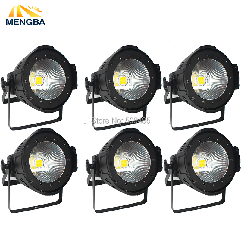 6pcs/lot LED Par Light COB 100W High Power Aluminium DJ DMX Led Beam Wash Strobe Effect Stage Lighting
