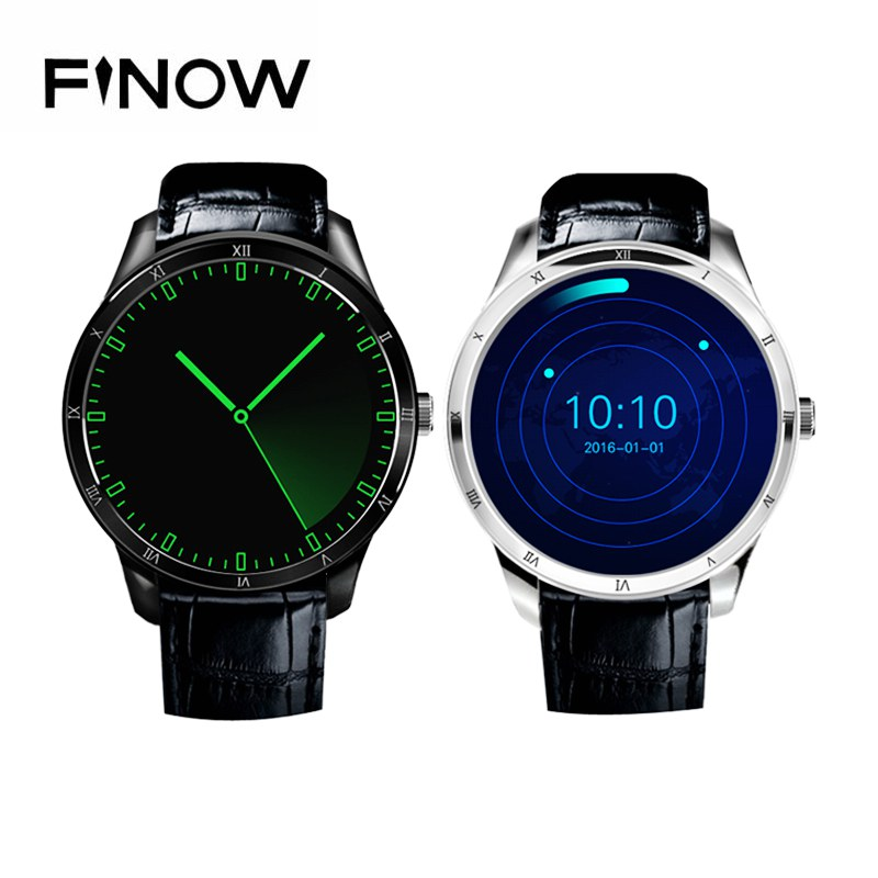 2017 Fashion Finow Q5 Smart Watch android 5.1 512MB+8GB BT 3G wifi smartWatch for IOS&Android Phone PK KW88 Watch Apple Watch