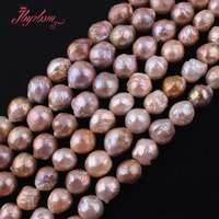 9 10,11 13mm Nearround Reborn Keshi Edsion Freshwater Pearl Natural Stone Beads For DIY Necklace Jewelry Making15 Free Shipping