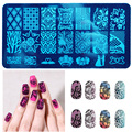 10 New Design DIY Nail Art Image Stamp Stamping Plates Manicure Template Tool #M02031
