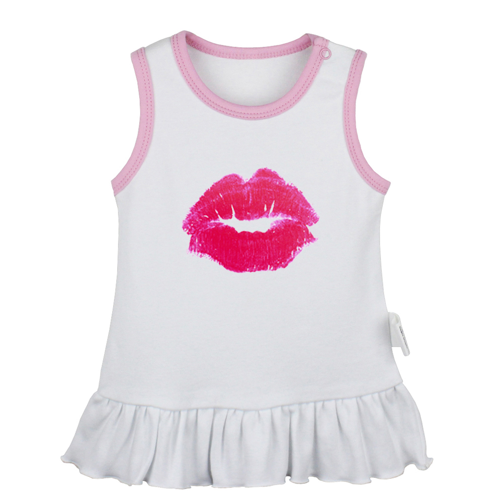 Toddler Infant Baby Girls Clothes Little Mouse Cotton Sleeveless Dress Outfits