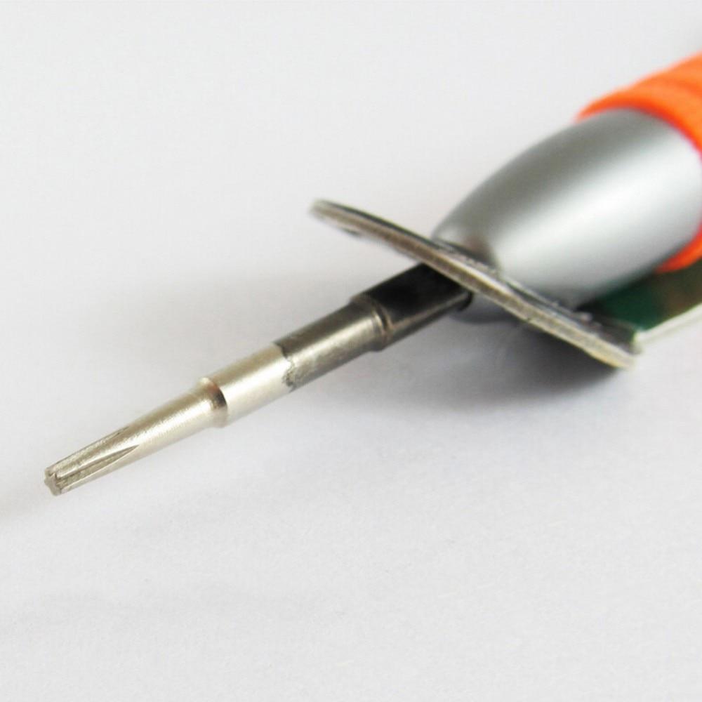 Струйная отвертка, 1 шт., высокое качество, 5 точек, звезда, пятиугольник, тонкая отвертка, w1.2 x 25 мм, для Apple MacBook, Air, WORD