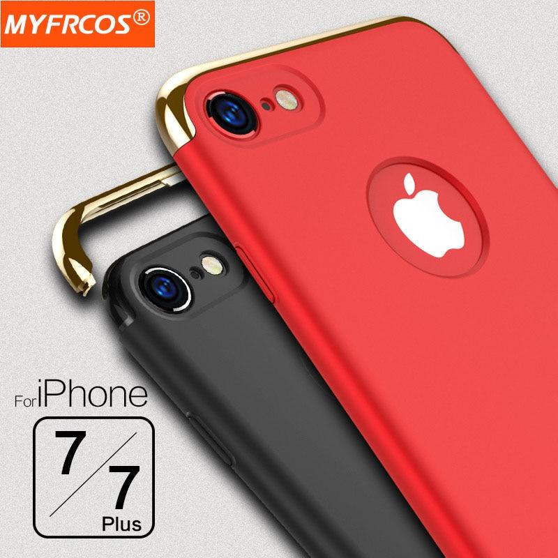 Case para iphone 7 4.7 pulgadas tríada 7 plus 5.5 pulgadas ultra delgado Cubiert